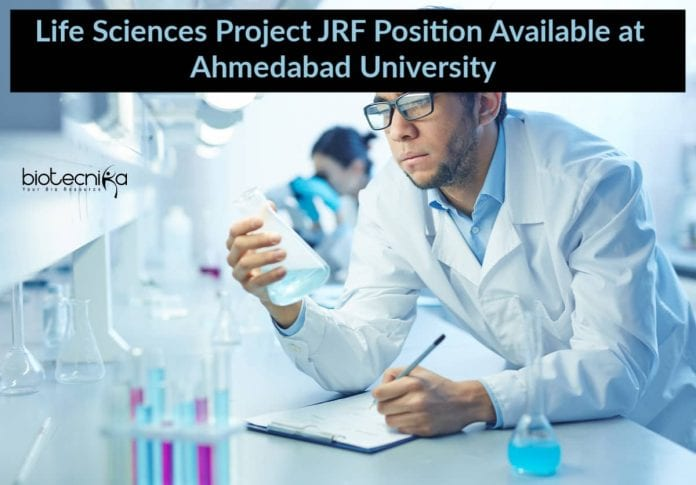 Life Sciences Project JRF