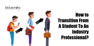 How to Transition From A Student To An Industry Professional