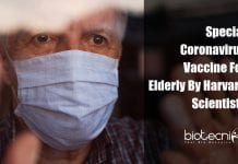 Coronavirus vaccine specifically for the elderly