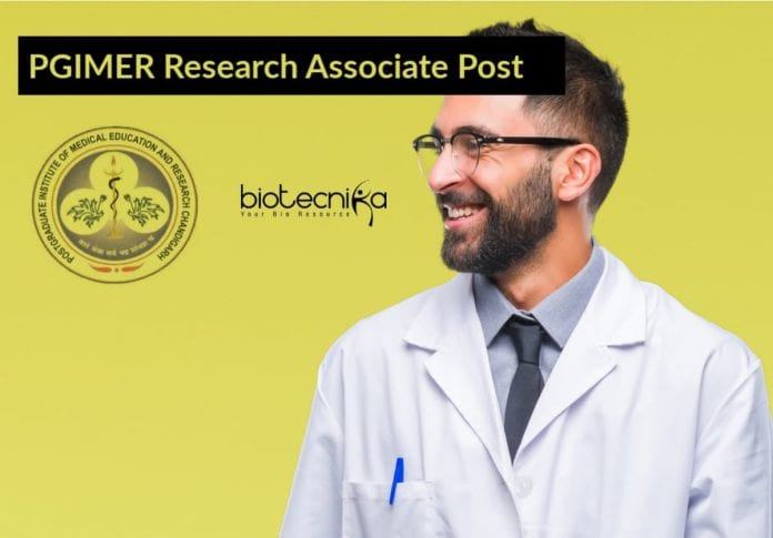 PGIMER Research Associate Post