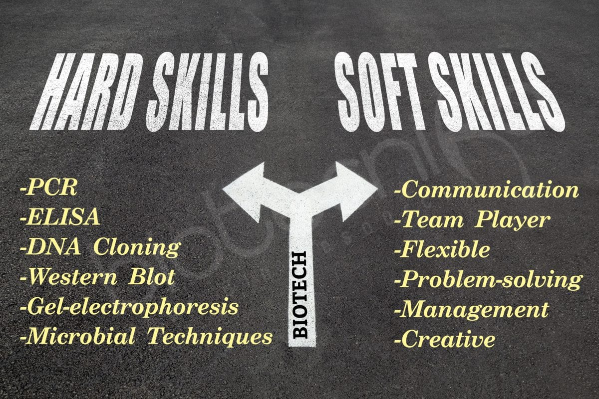 Biotech Hard Skills and Soft Skills