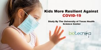 Children more resilient against coronavirus