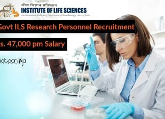 Govt ILS Research Personnel