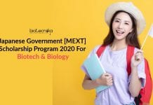 Japanese Government [MEXT] Scholarship