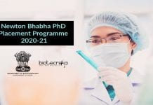Newton-Bhabha PhD Placement Programme