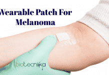 Wearable patch for melanoma