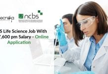 Freshers NCBS Life Science