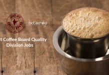 Govt Coffee Board Jobs