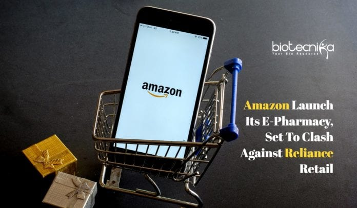 Amazon launch e-pharmacy