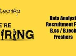 Data Analyst Job