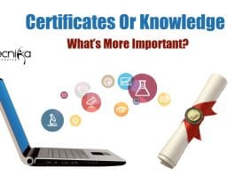 Certificates or Knowledge