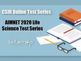 AIMNET Test Series for CSIR