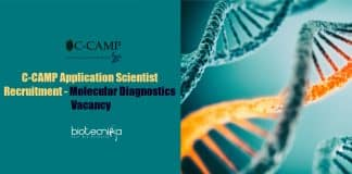 C-CAMP Scientist Recruitment