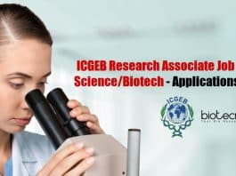 ICGEB Research Job