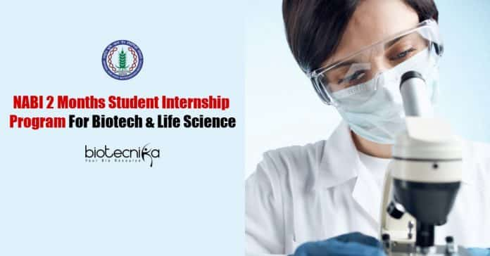 NABI Student Internship Program