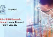 NIRRH Research Recruitment
