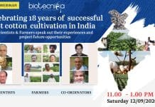 Biotecnika Webinar on Bt Cotton