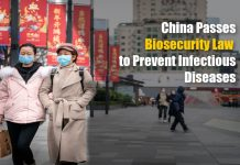 China Passes Biosecurity Law