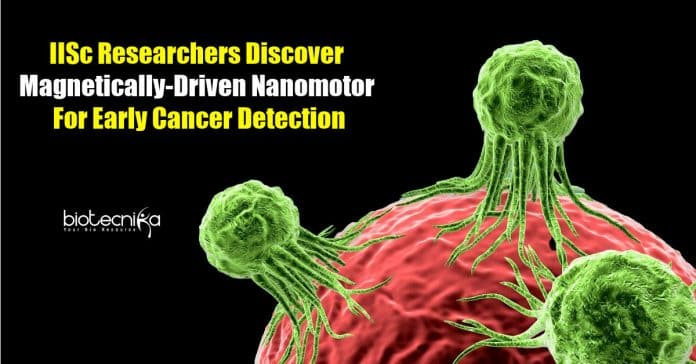 Nanomotors early cancer detection