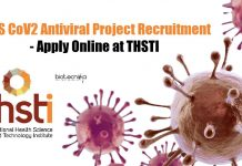 THSTI Research Job Openings