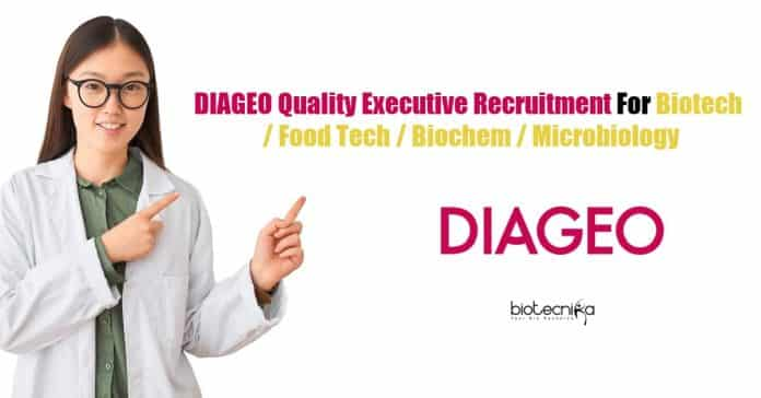 DIAGEO Quality Executive