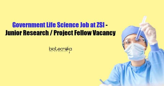 Government Life Science Job