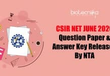 CSIR June 2020 Answer