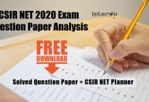 CSIR 2020 Question Discussion