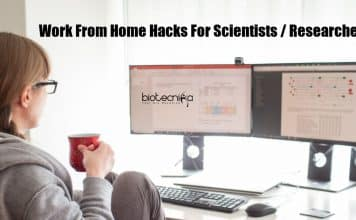 Scientists Work From Home Hack