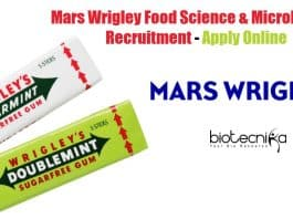 Mars Wrigley Food Science