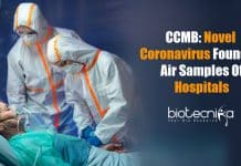 coronavirus in air samples