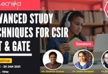 Advanced CSIR NET Study