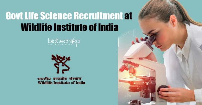 Govt Life Science Recruitment