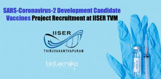 IISER TVM JRF Vacancy