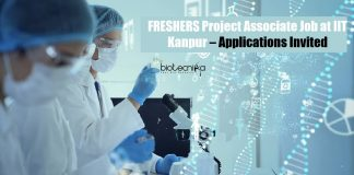 IIT Kanpur Project Associate