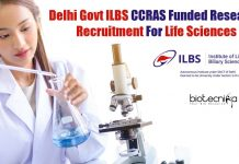 ILBS Research Jobs