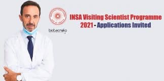 INSA-Visiting Scientist Programme