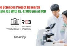 Life Sciences Project Research