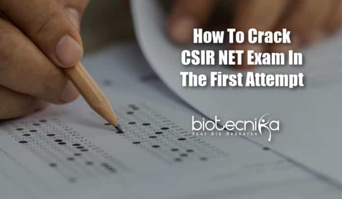 CSIR NET Exam In First Attempt, CSIR NET Strategies