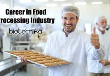 Career In Food Processing Industry