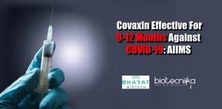 Covaxin effective for 9-12 months
