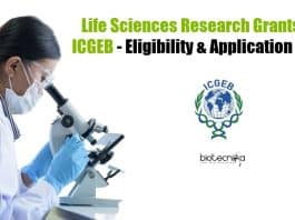 ICGEB Research Grants 2021