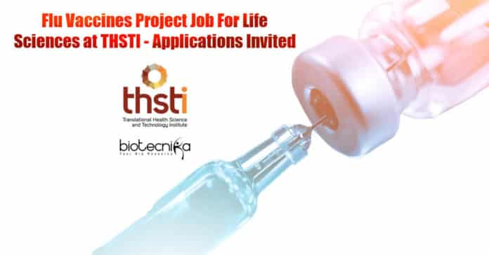 Life Science Vacancies THSTI