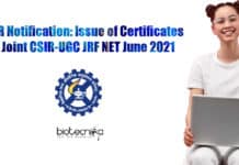 CSIR-UGC NET June 2020