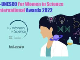 L'Oréal-UNESCO Women's Award 2022