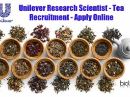 Unilever Research Scientist