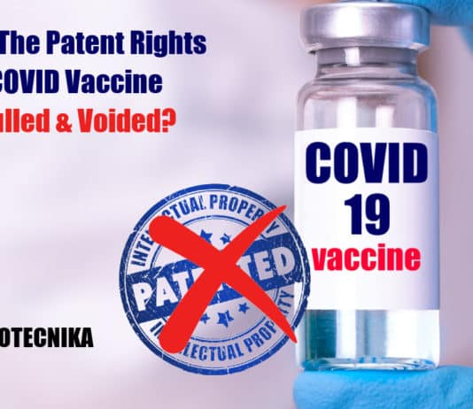 Patent Rights On COVID Vaccine