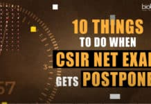 CSIR NET EXAM Postponed